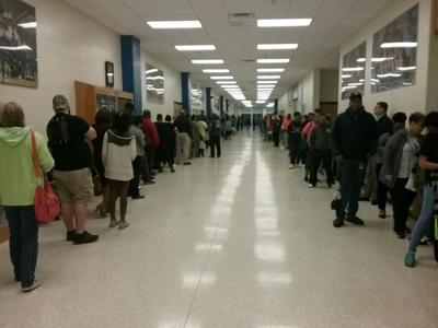 2018 Elections: Long lines as polls near closing time