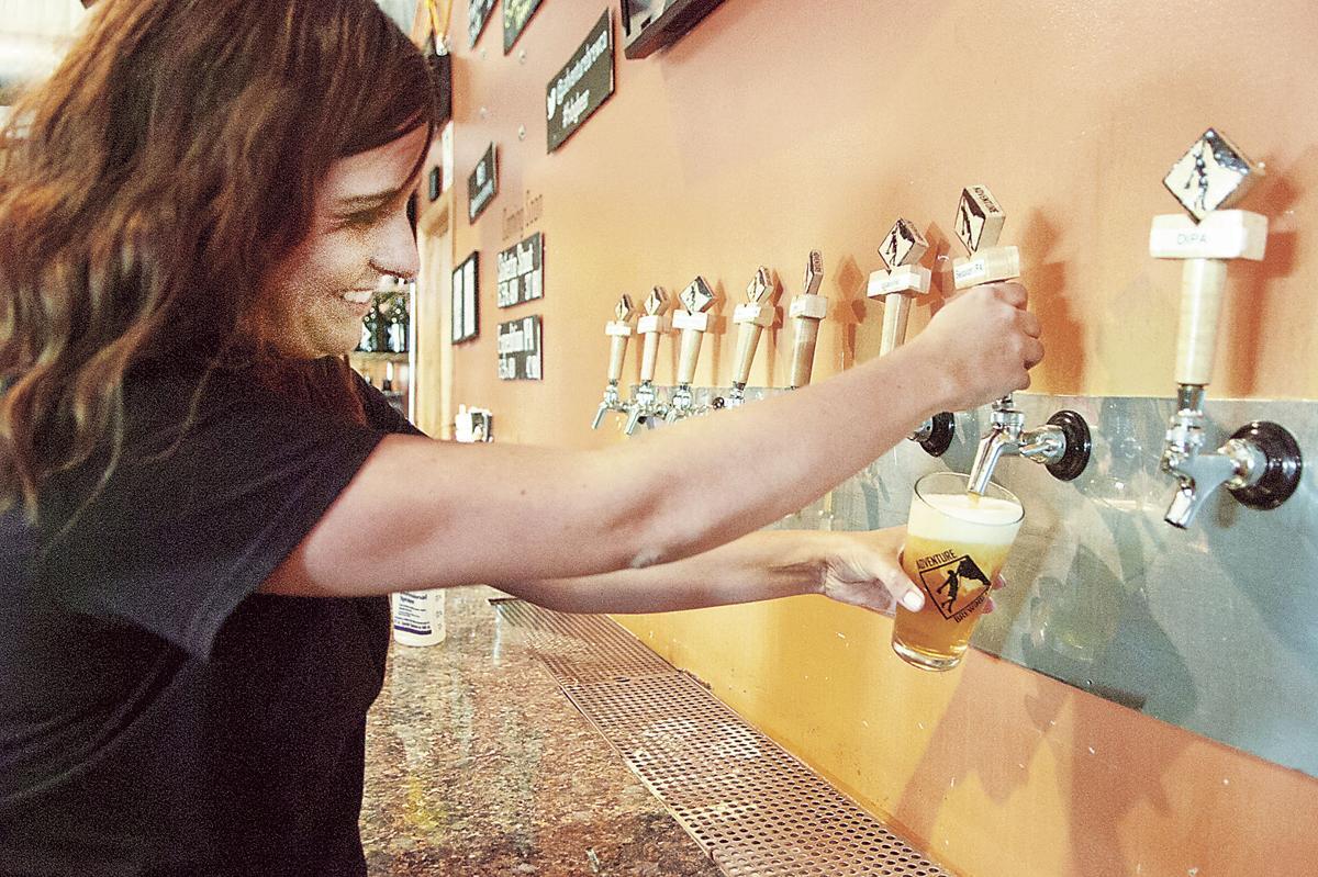 Adventure Brewing Company bar manager Keidi Reed