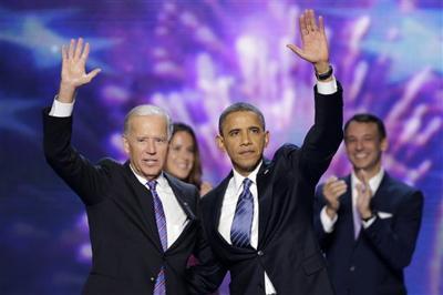 Democratic Convention Biden Obama