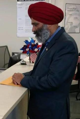 Republican Devinder Singh running for Neabsco supervisor special election