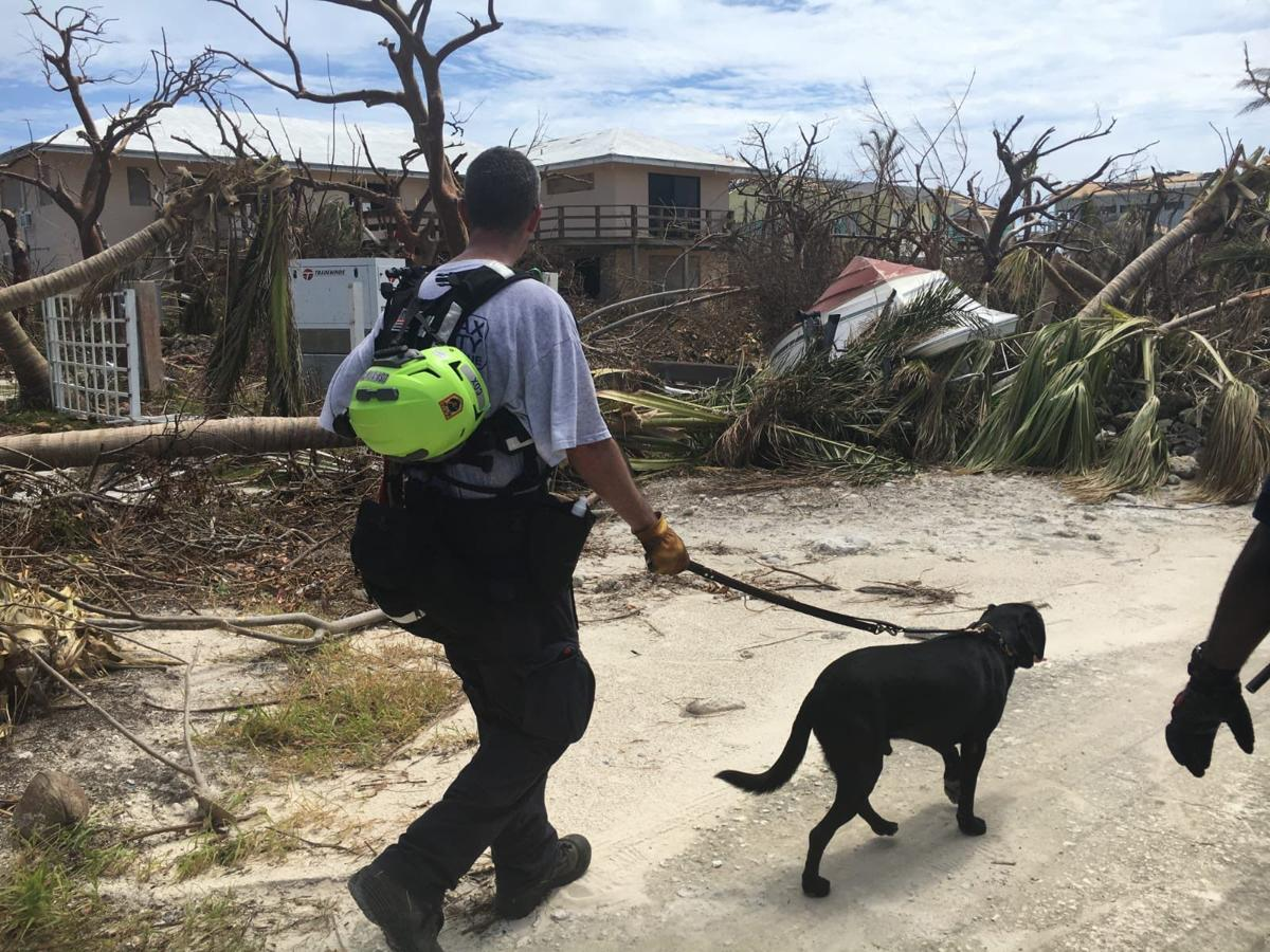Local team rescues two people on remote island after Hurricane Dorian
