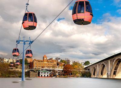 Georgetown gondola project rendering