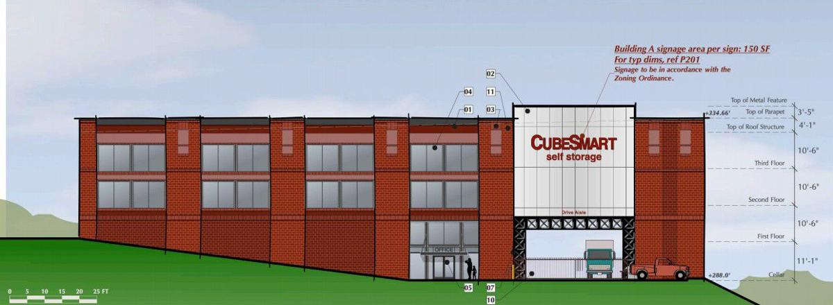 Self-storage center proposed for Dale Boulevard