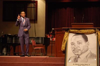 Honoring Martin Luther King Jr. at annual oratorical competition in Woodbridge
