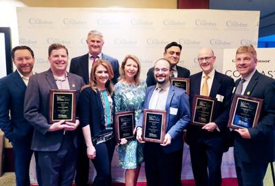 2018 Arlington Chamber of Commerce Best Business recipients