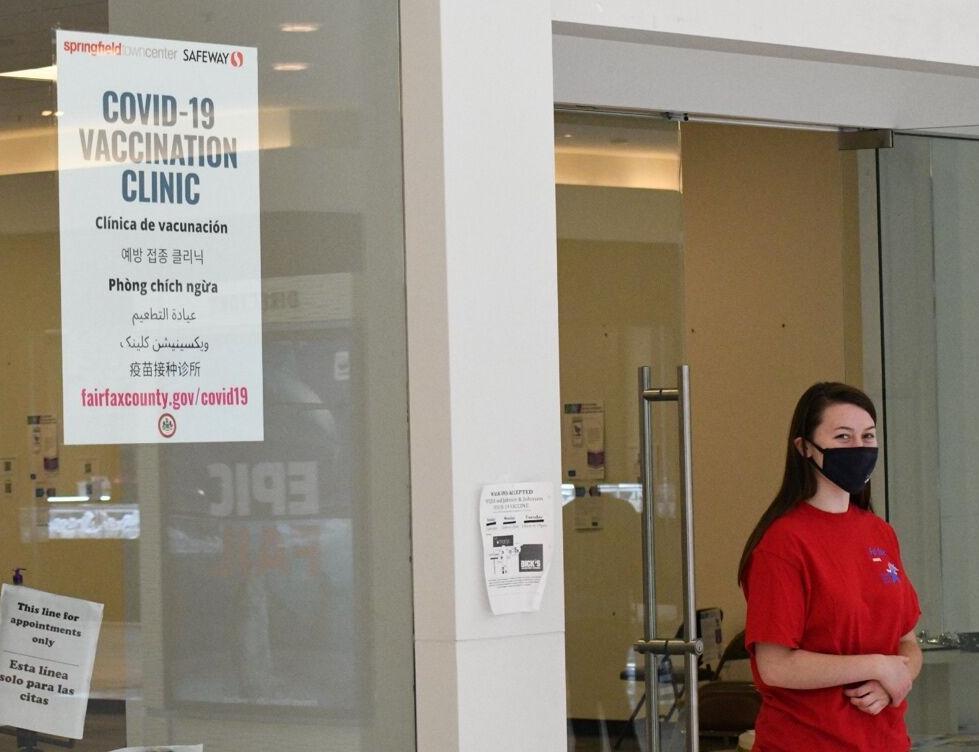 Springfield Town Center COVID vaccine clinic