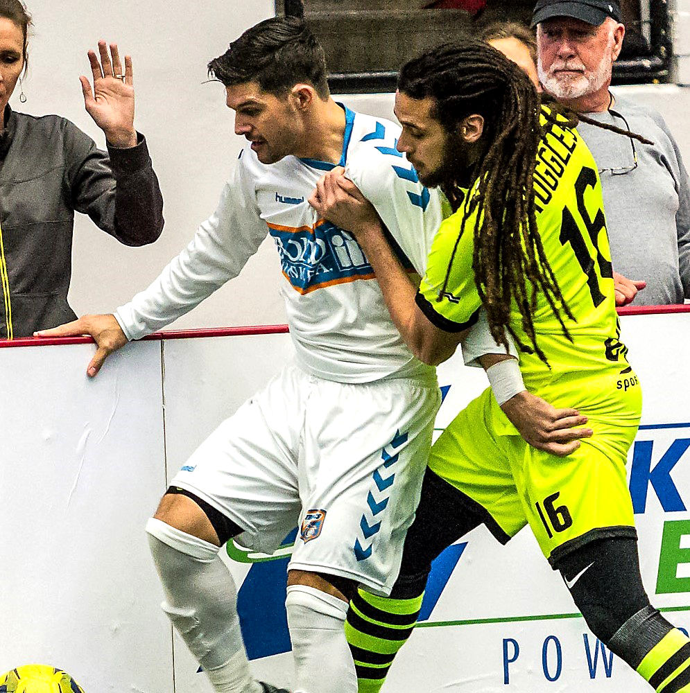 Florida Tropics vs the Milwaukee Wave at the RP Funding Center in Lakeland, Florida on 19 January 2019 in a Major Arena Soccer League regular season game (Photographer: Christopher Arnold)