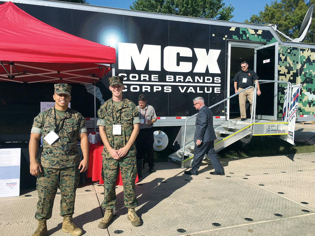 Active duty Marines enjoy work in a rare job in the Corps | Features