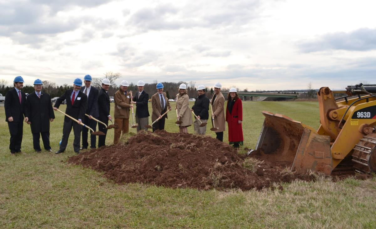 groundbreaking at Landing at Cannon Branch