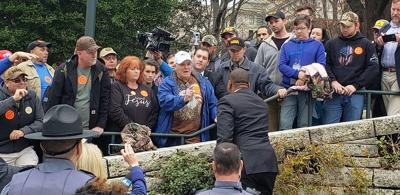 Gun rights advocates flood capitol as gun control bills advance