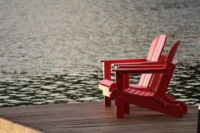 generic retiree retire lake river holiday
