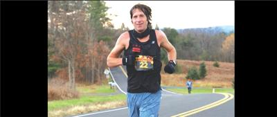 Marathon runner Chris Farley