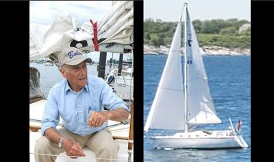 Boat sailor to Bermuda