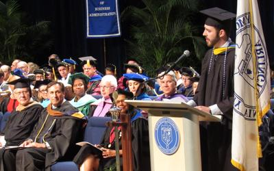 2018 Marymount commencement 3