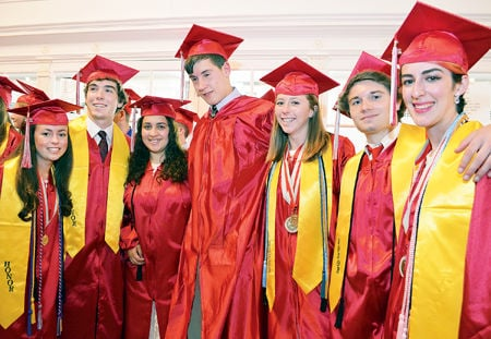 2016 McLean High School graduation 2