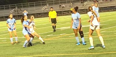Yorktown vs. W-L soccer action