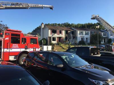 Townhouse fire Woodbridge