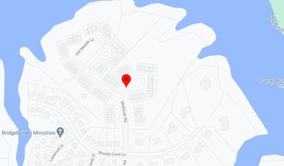 Lake Ridge explosion map