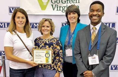 Vienna officials receive VML award