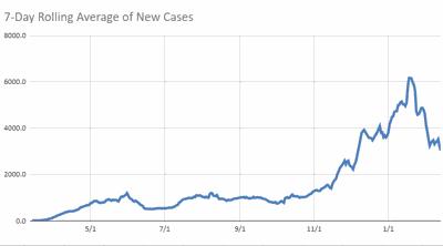 Virginia case chart 2.13.21