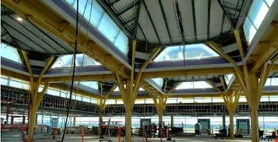Expansion work at airport continues on schedule