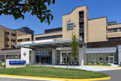 Reston Hospital Center main entrance