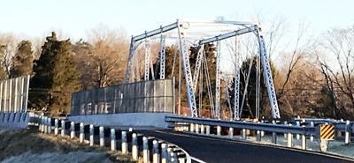 Aden Road's historic truss bridge returns, reopens