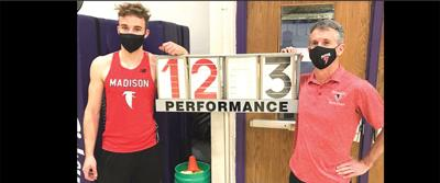Madison pole vaulter with winning total
