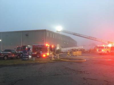 Fire at Gainesville storage center