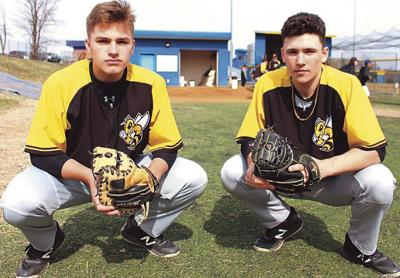 Division I baseball commitments AJ Shepard and Mason Balsis reunite