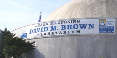 David M. Brown Planetarium Reopens