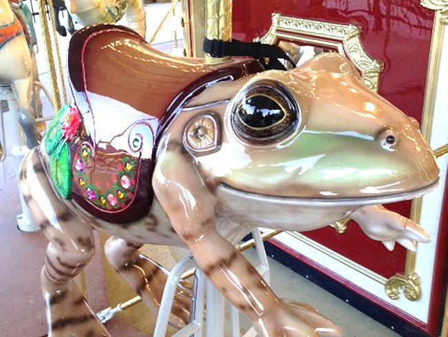 Lee District Park carousel