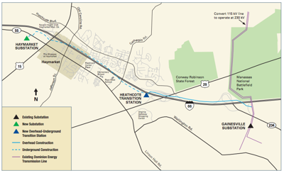 Dominion to start work on controversial $175M power line in I-66 corridor