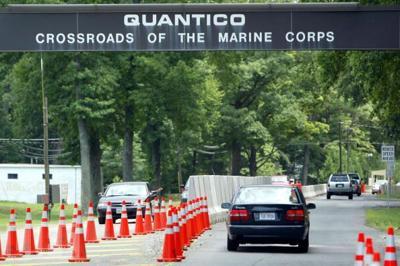 Quantico front gate