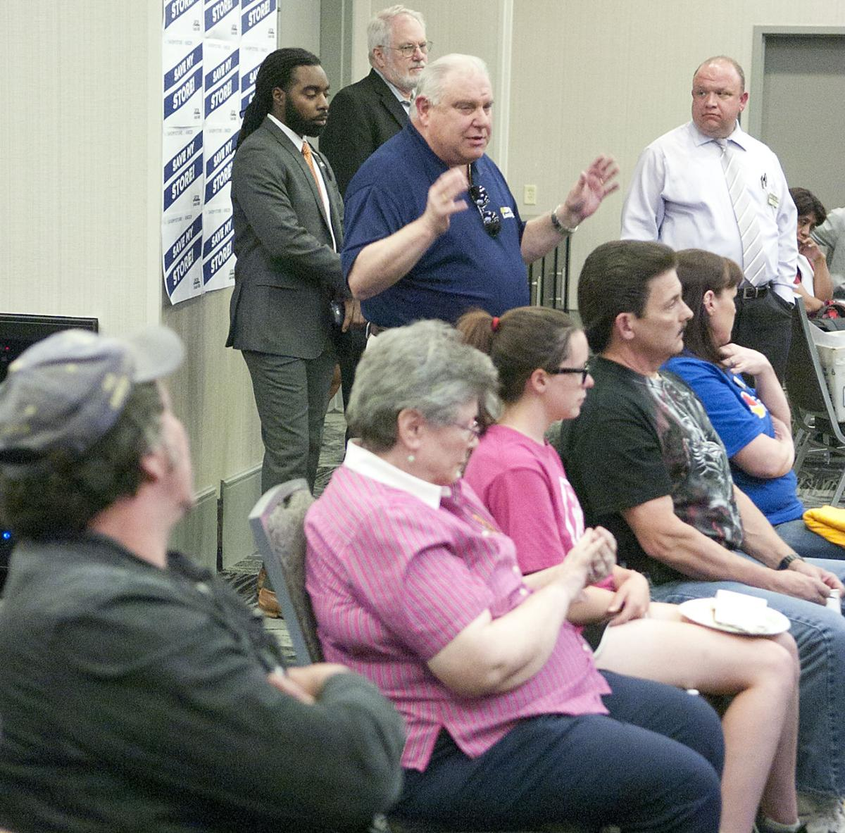 Stafford union workers squeezed by proposed grocery merger