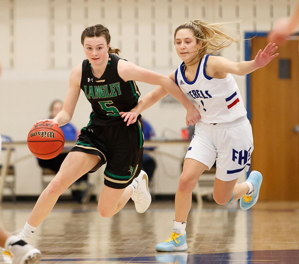 Langley girls basketball 1