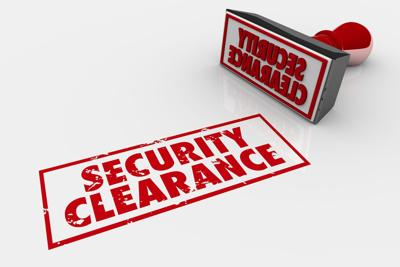 Security Clearance Approved Stamp 3d Illustration Generic Classified