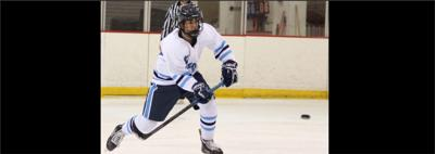 Yorktown hockey player