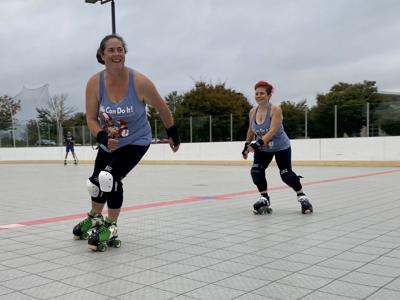 Blood, sweat and eyeliner: Local woman trying to establish roller derby team