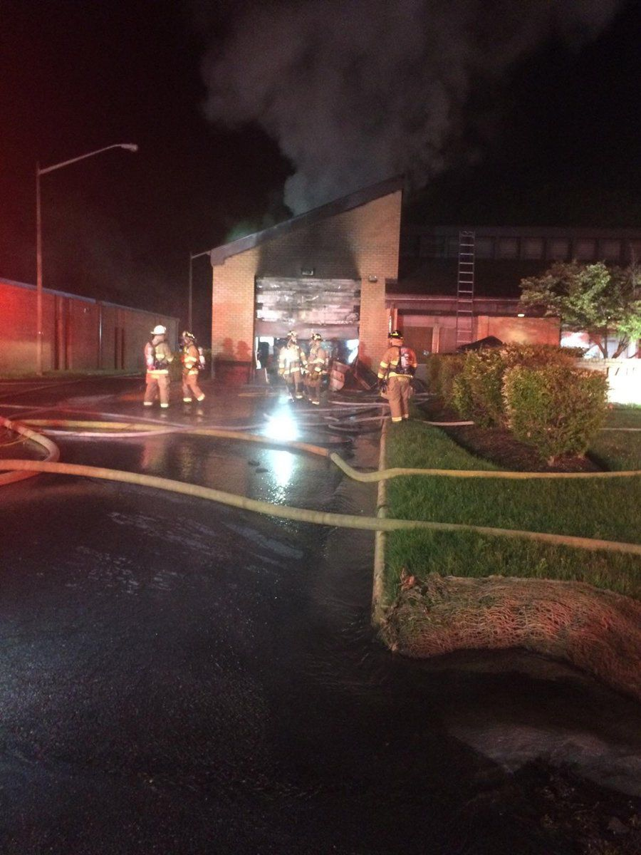 fire at fire station early sunday in springfield area news fairfax
