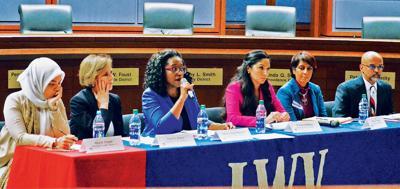 School Board aspirants clash on boundaries, safety
