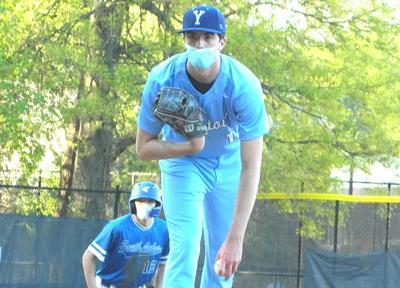 Yorktown pitcher Tallon