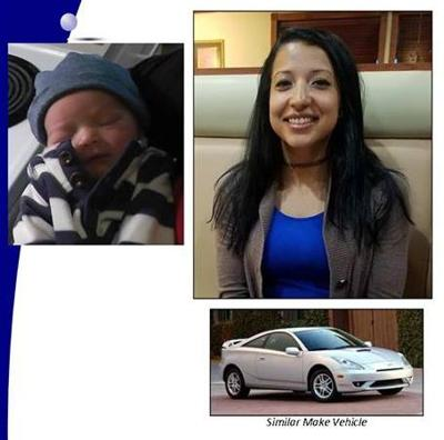 Woman, infant reported missing in Stafford County
