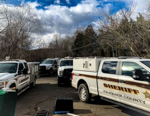 Suspected puppy mill raid. Courtesy Fauquier County Sheriff's Office
