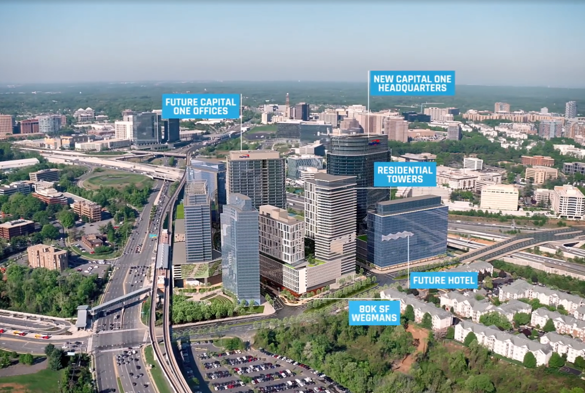 Capital One S New Headquarters Means Big Things For