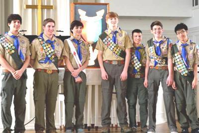 Boy Scouts reach Eagle status