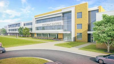Potomac Shores middle school rendering