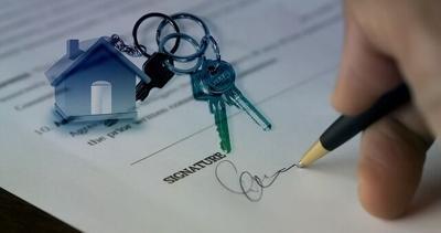 real estate generic keys closing signing mortgage