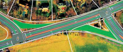 Fairfax mulls new intersection design at Spring Hill, Lewinsville roads