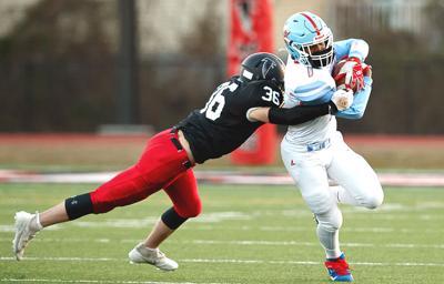 Marshall-Madison football action
